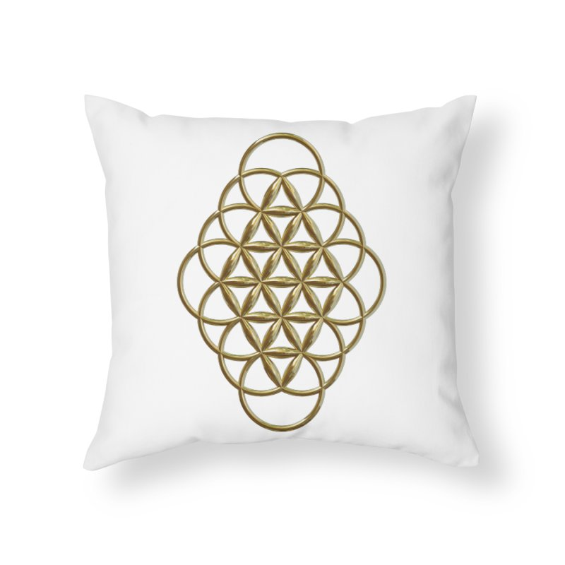 Seed of Love Au Home Throw Pillow by diamondheart's Artist Shop