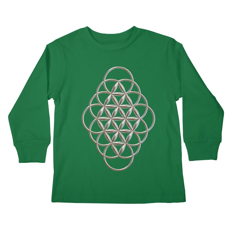 Seed of Love Ag Kids Longsleeve T-Shirt by diamondheart's Artist Shop