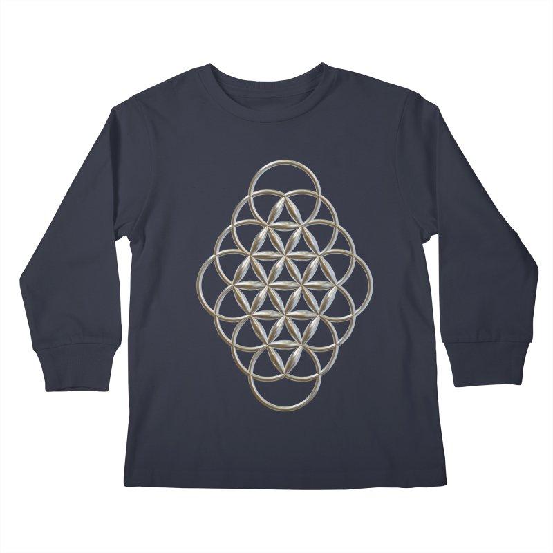 Seed of Love Ag Kids Longsleeve T-Shirt by diamondheart's Artist Shop
