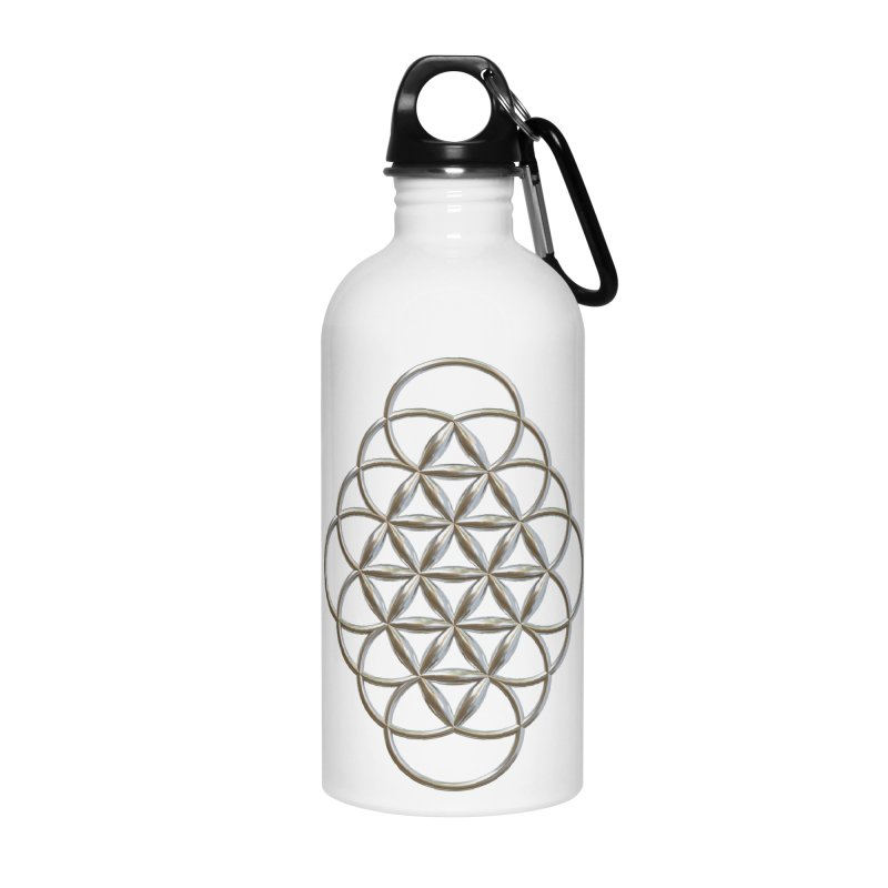 Seed of Love Ag Accessories Water Bottle by diamondheart's Artist Shop
