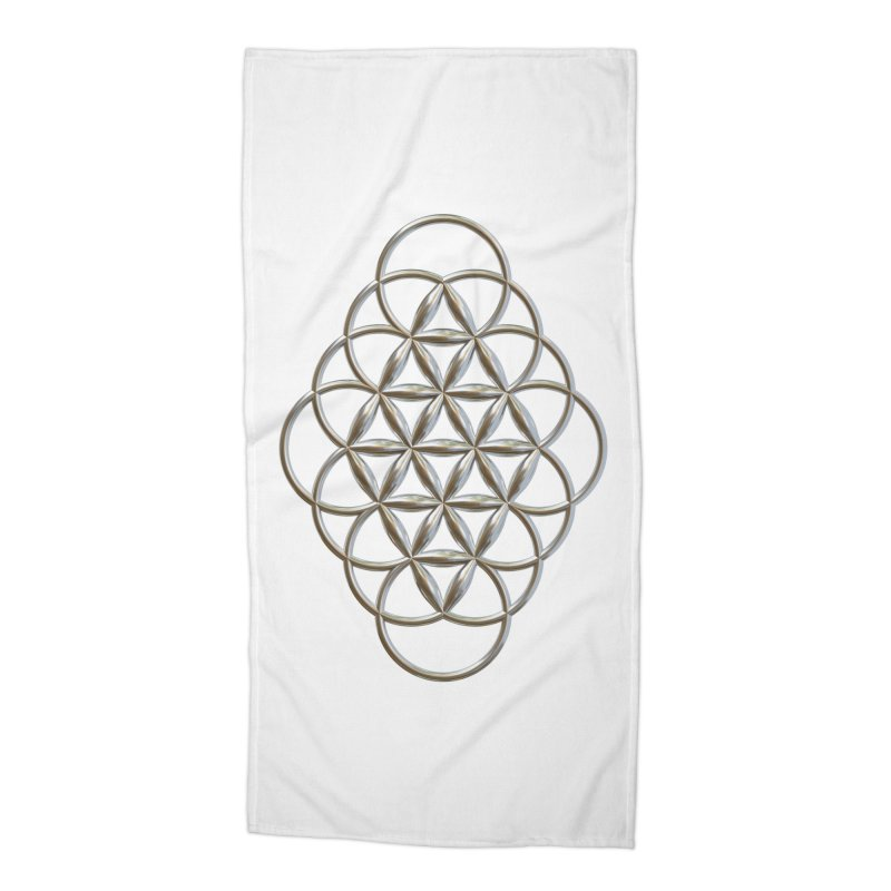 Seed of Love Ag Accessories Beach Towel by diamondheart's Artist Shop