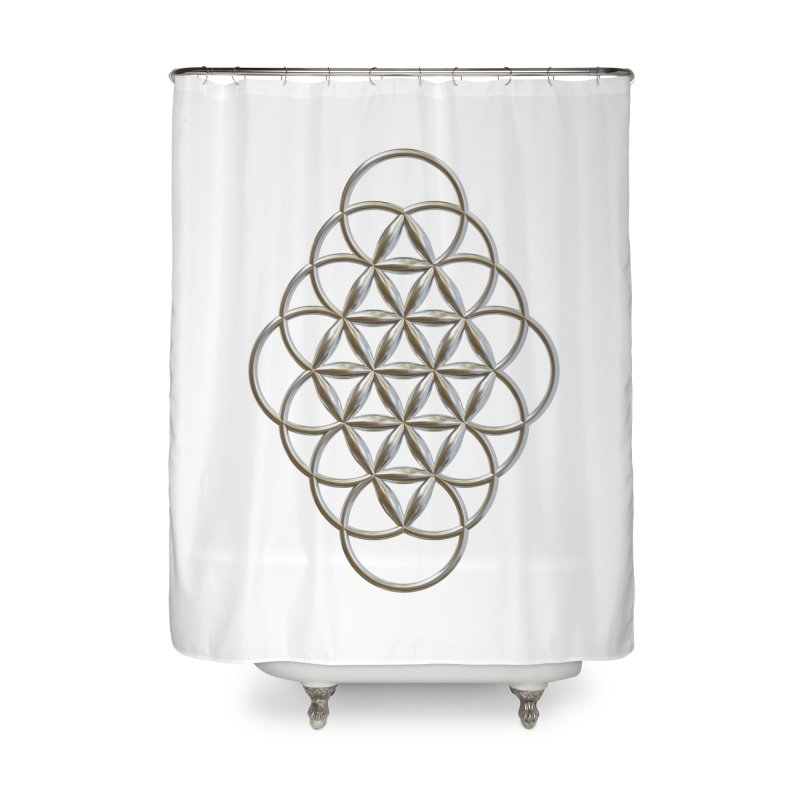 Seed of Love Ag Home Shower Curtain by diamondheart's Artist Shop