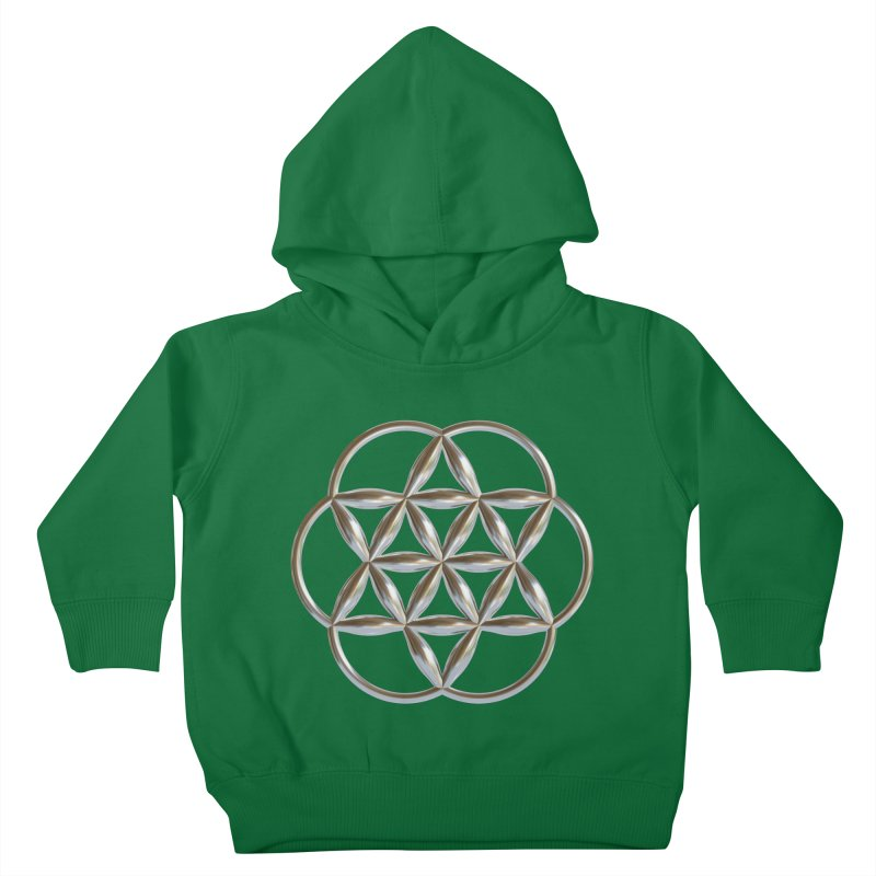 Flowering Seed of Life Ag Kids Toddler Pullover Hoody by diamondheart's Artist Shop