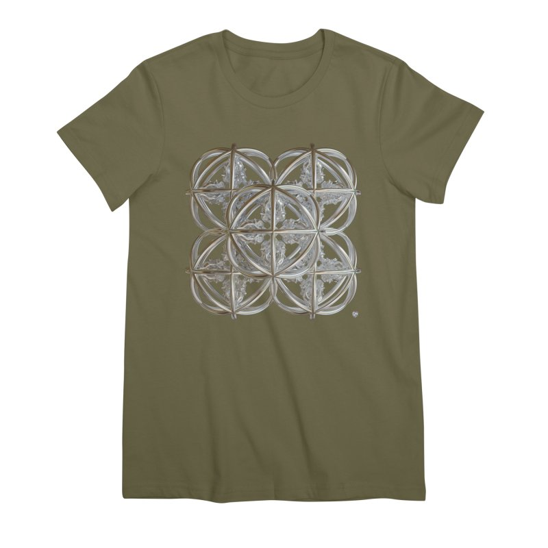 56 Dorje Object Silver v1 Women's Premium T-Shirt by diamondheart's Artist Shop
