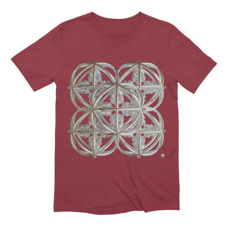 56 Dorje Object Silver v1 Men's Extra Soft T-Shirt by diamondheart's Artist Shop