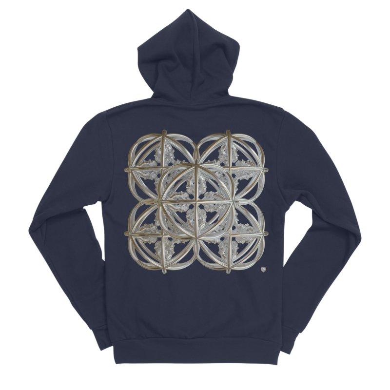56 Dorje Object Silver v1 Women's Sponge Fleece Zip-Up Hoody by diamondheart's Artist Shop