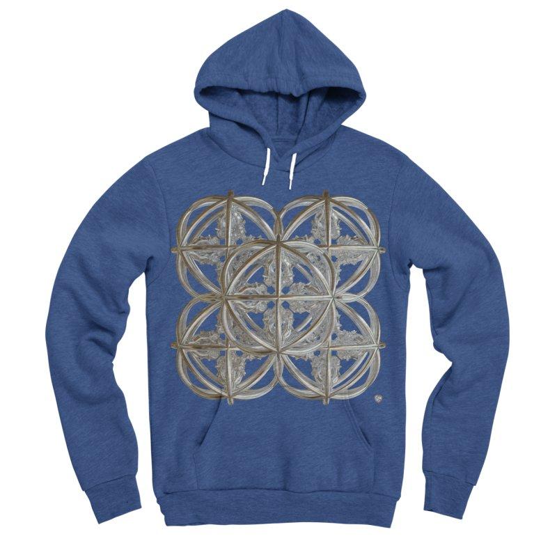 56 Dorje Object Silver v1 Men's Sponge Fleece Pullover Hoody by diamondheart's Artist Shop