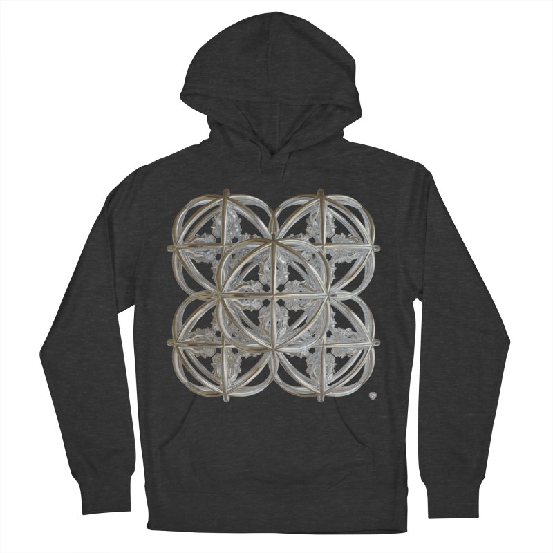 56 Dorje Object Silver v1 Men's French Terry Pullover Hoody by diamondheart's Artist Shop
