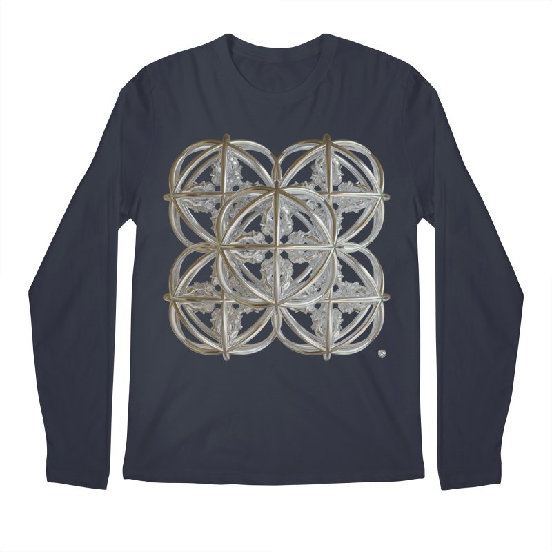 56 Dorje Object Silver v1 Men's Regular Longsleeve T-Shirt by diamondheart's Artist Shop