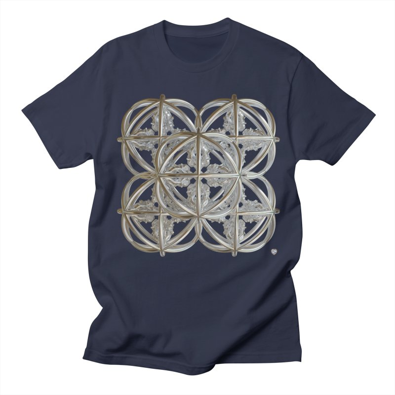 56 Dorje Object Silver v1 Men's T-Shirt by diamondheart's Artist Shop