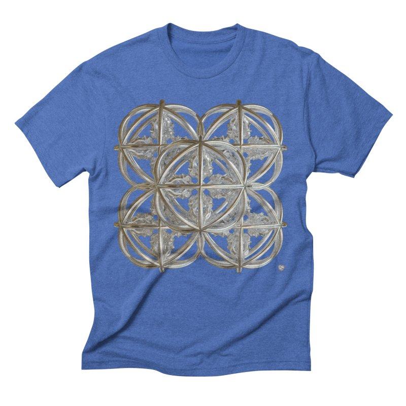 56 Dorje Object Silver v1 Men's T-Shirt by diamondheart's Artist Shop