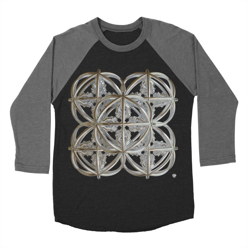 56 Dorje Object Silver v1 Women's Baseball Triblend Longsleeve T-Shirt by diamondheart's Artist Shop