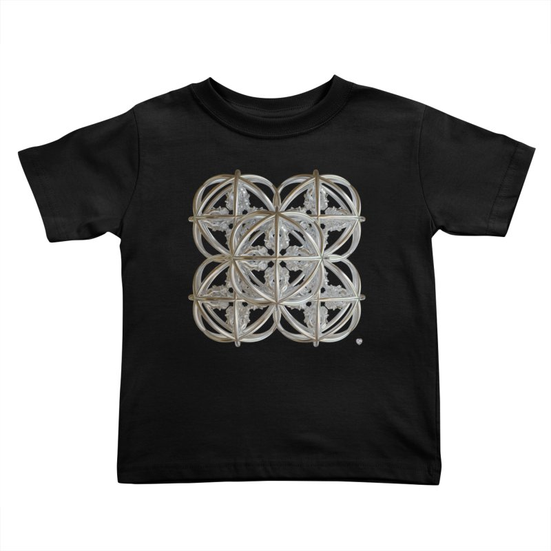 56 Dorje Object Silver v1 Kids Toddler T-Shirt by diamondheart's Artist Shop
