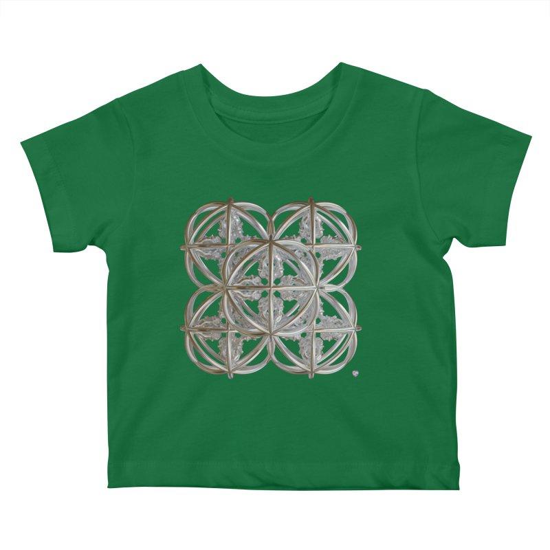 56 Dorje Object Silver v1 Kids Baby T-Shirt by diamondheart's Artist Shop