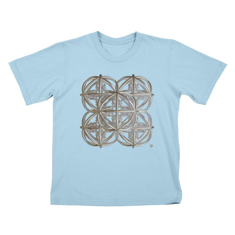 56 Dorje Object Silver v1 Kids T-Shirt by diamondheart's Artist Shop