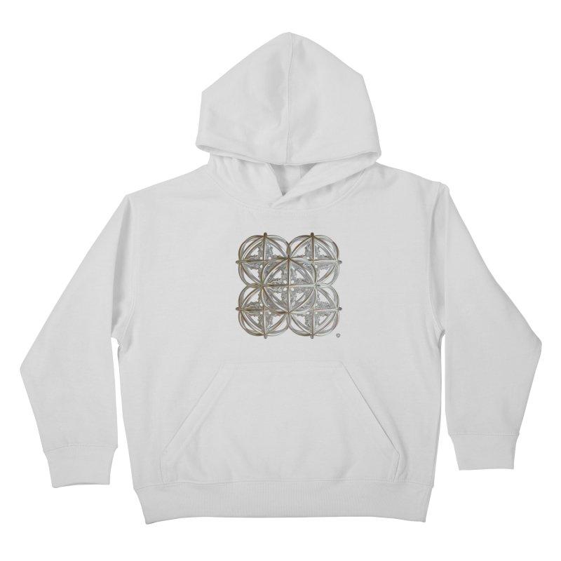 56 Dorje Object Silver v1 Kids Pullover Hoody by diamondheart's Artist Shop