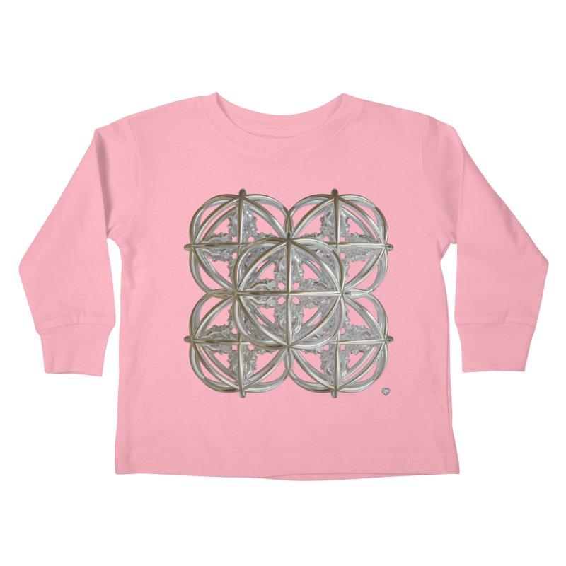 56 Dorje Object Silver v1 Kids Toddler Longsleeve T-Shirt by diamondheart's Artist Shop