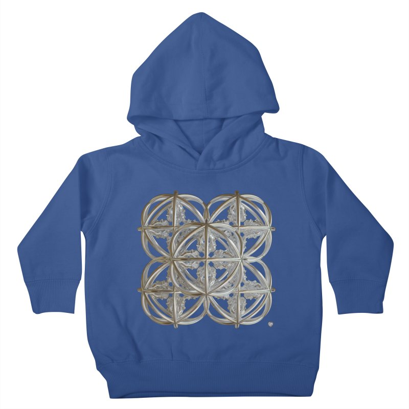 56 Dorje Object Silver v1 Kids Toddler Pullover Hoody by diamondheart's Artist Shop