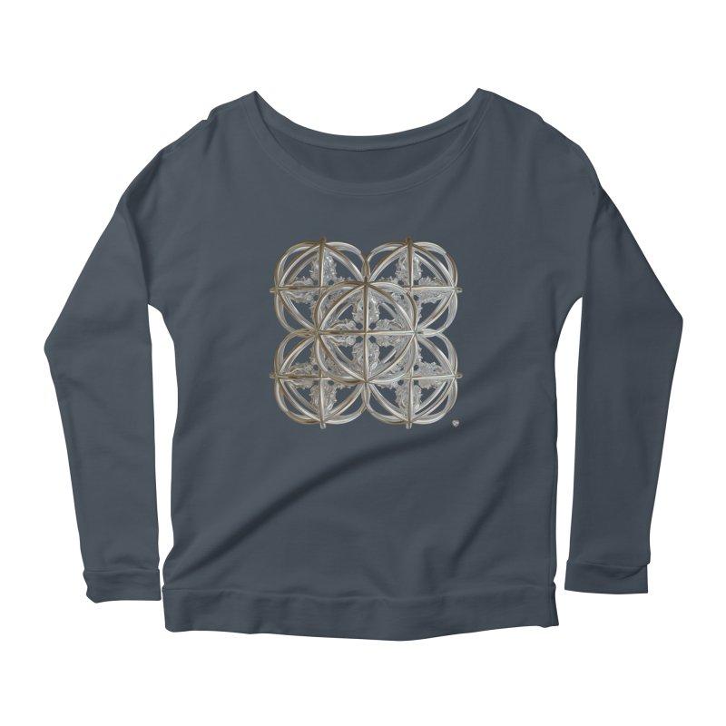 56 Dorje Object Silver v1 Women's Scoop Neck Longsleeve T-Shirt by diamondheart's Artist Shop