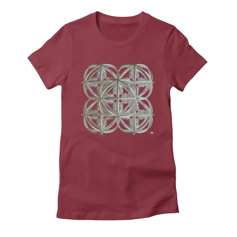 56 Dorje Object Silver v1 Women's T-Shirt by diamondheart's Artist Shop
