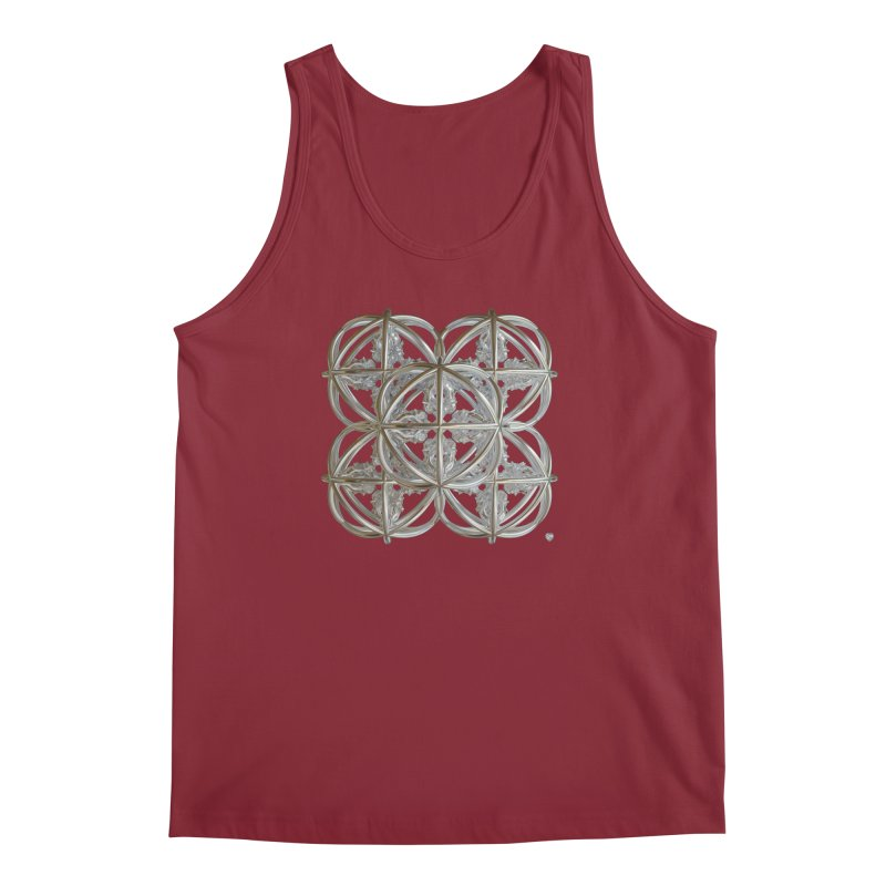 56 Dorje Object Silver v1 Men's Regular Tank by diamondheart's Artist Shop