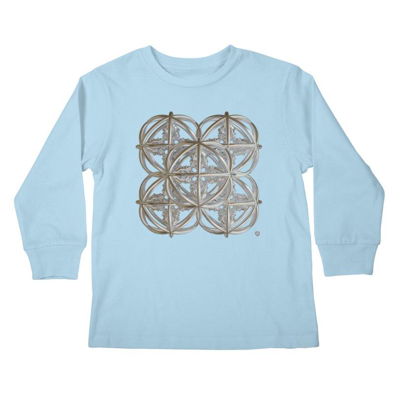 56 Dorje Object Silver v1 Kids Longsleeve T-Shirt by diamondheart's Artist Shop