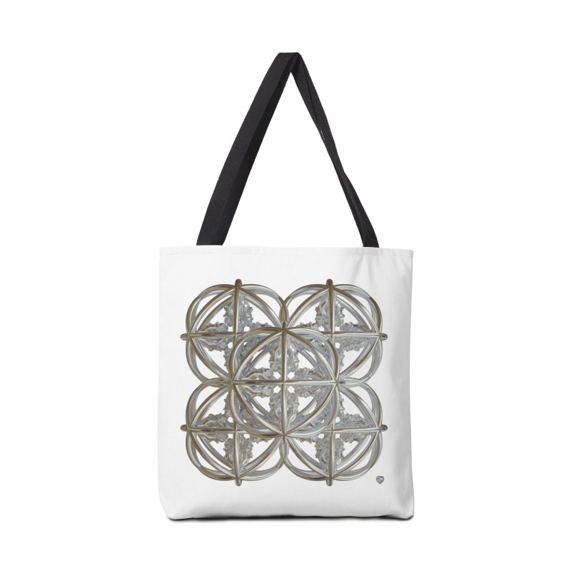 56 Dorje Object Silver v1 Accessories Tote Bag Bag by diamondheart's Artist Shop