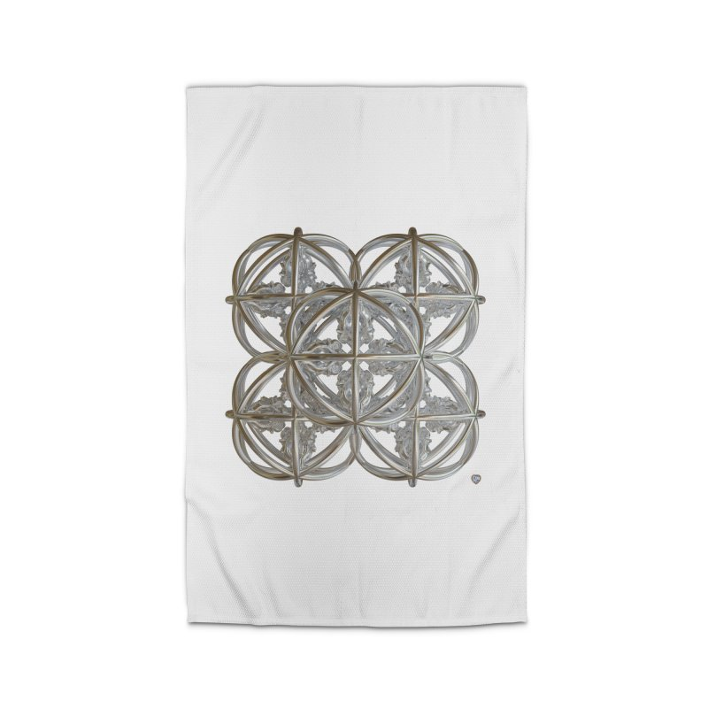 56 Dorje Object Silver v1 Home Rug by diamondheart's Artist Shop