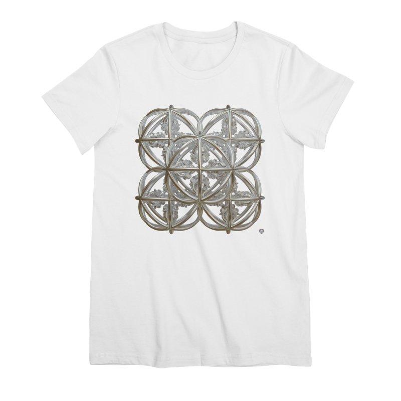 56 Dorje Object Silver Women's Premium T-Shirt by diamondheart's Artist Shop