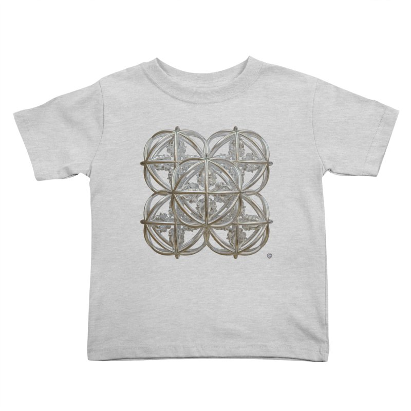 56 Dorje Object Silver Kids Toddler T-Shirt by diamondheart's Artist Shop