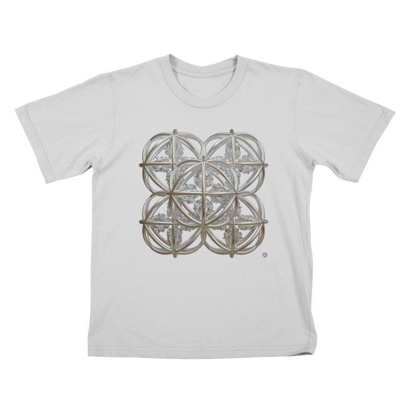 56 Dorje Object Silver Kids T-Shirt by diamondheart's Artist Shop