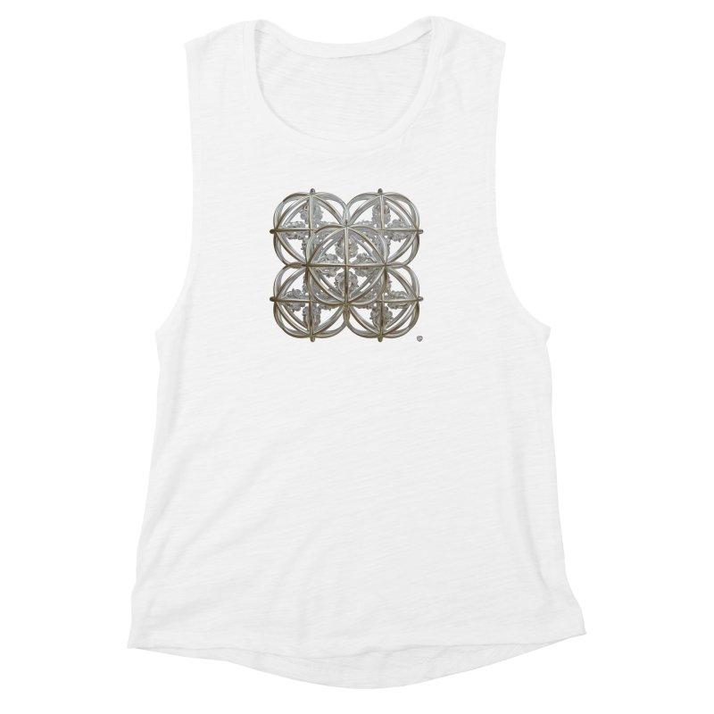 56 Dorje Object Silver Women's Muscle Tank by diamondheart's Artist Shop