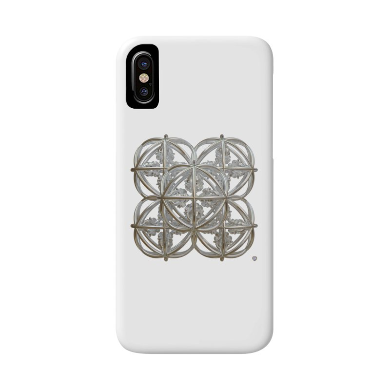 56 Dorje Object Silver Accessories Phone Case by diamondheart's Artist Shop