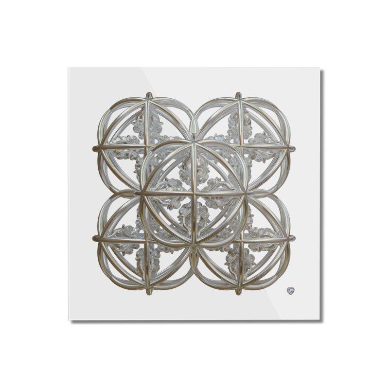 56 Dorje Object Silver Home Mounted Acrylic Print by diamondheart's Artist Shop