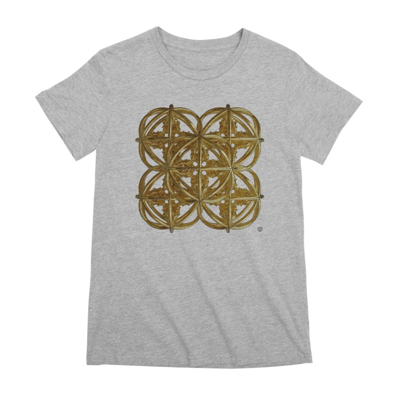56 Dorje Object Gold v1 Women's Premium T-Shirt by diamondheart's Artist Shop