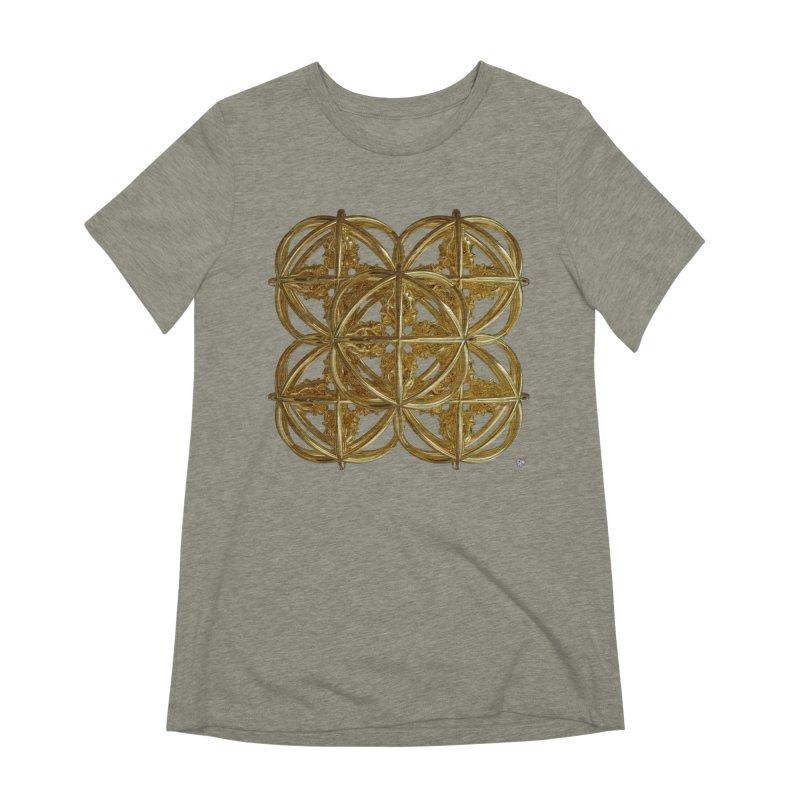 56 Dorje Object Gold v1 Women's Extra Soft T-Shirt by diamondheart's Artist Shop