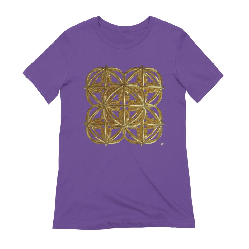 56 Dorje Object Gold v1 Women's Extra Soft T-Shirt by diamondheart's Artist Shop