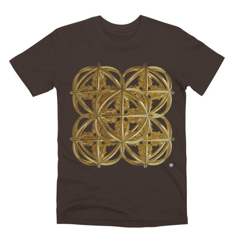 56 Dorje Object Gold v1 Men's Premium T-Shirt by diamondheart's Artist Shop
