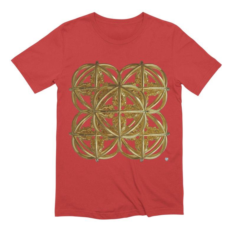 56 Dorje Object Gold v1 Men's Extra Soft T-Shirt by diamondheart's Artist Shop