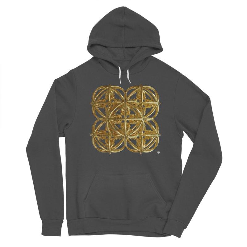 56 Dorje Object Gold v1 Women's Sponge Fleece Pullover Hoody by diamondheart's Artist Shop