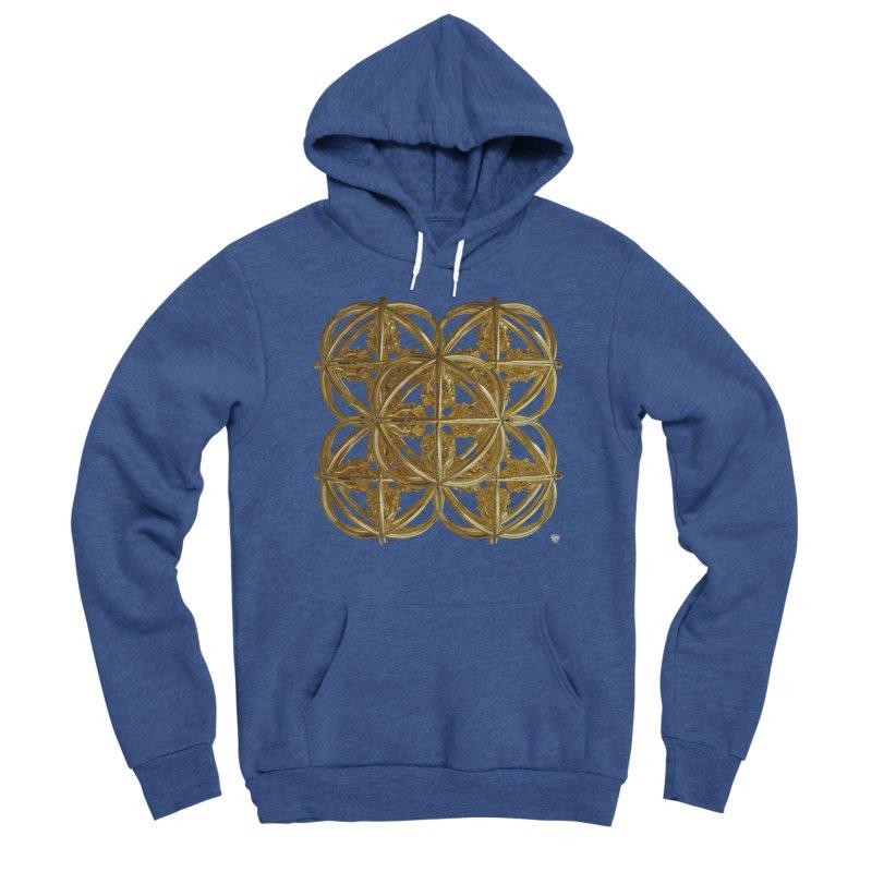 56 Dorje Object Gold v1 Men's Sponge Fleece Pullover Hoody by diamondheart's Artist Shop