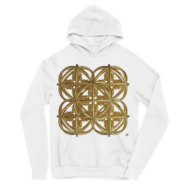56 Dorje Object Gold v1 Men's Sponge Fleece Pullover Hoody by diamondheart's Artist Shop