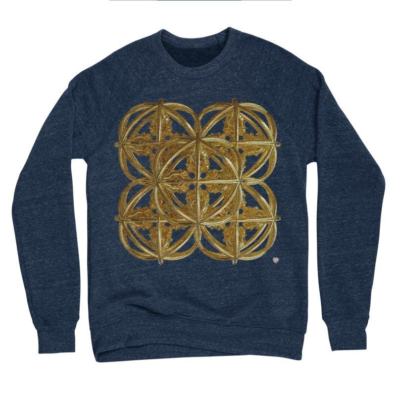 56 Dorje Object Gold v1 Men's Sponge Fleece Sweatshirt by diamondheart's Artist Shop