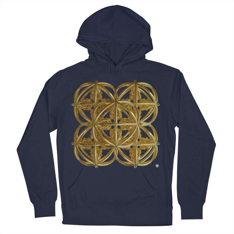 56 Dorje Object Gold v1 Men's Pullover Hoody by diamondheart's Artist Shop