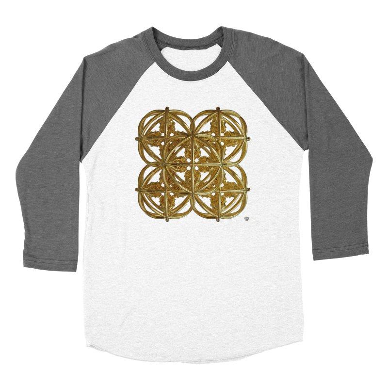 56 Dorje Object Gold v1 Women's Baseball Triblend Longsleeve T-Shirt by diamondheart's Artist Shop