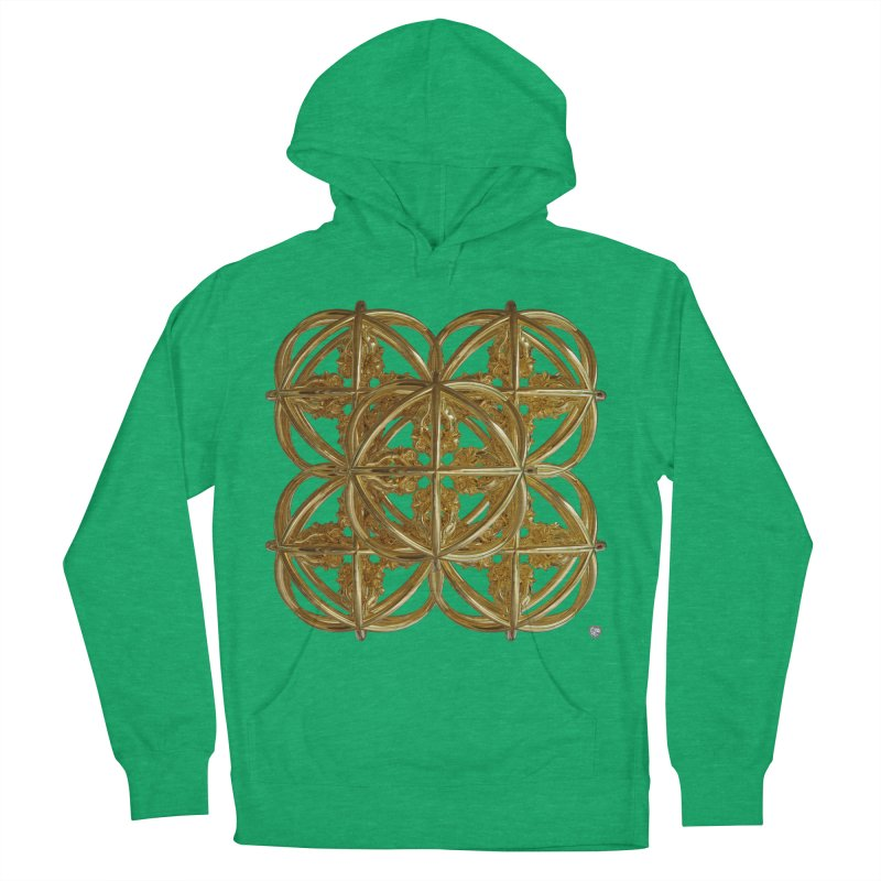 56 Dorje Object Gold v1 Women's French Terry Pullover Hoody by diamondheart's Artist Shop