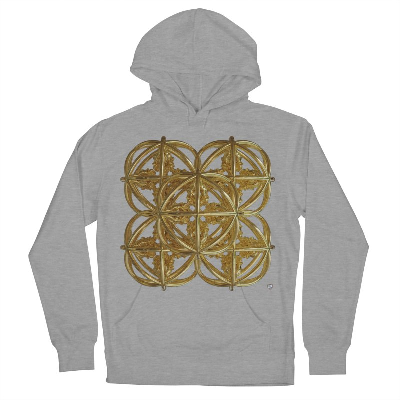 56 Dorje Object Gold v1 Men's French Terry Pullover Hoody by diamondheart's Artist Shop