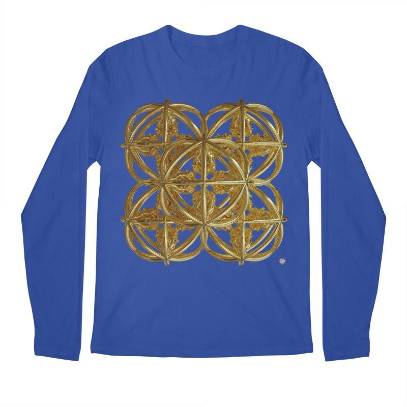 56 Dorje Object Gold v1 Men's Regular Longsleeve T-Shirt by diamondheart's Artist Shop