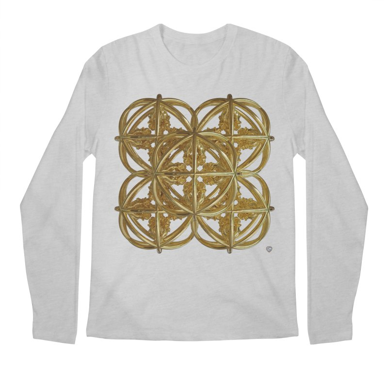 56 Dorje Object Gold v1 Men's Regular Longsleeve T-Shirt by diamondheart's Artist Shop