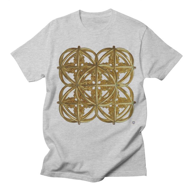 56 Dorje Object Gold v1 Men's Regular T-Shirt by diamondheart's Artist Shop